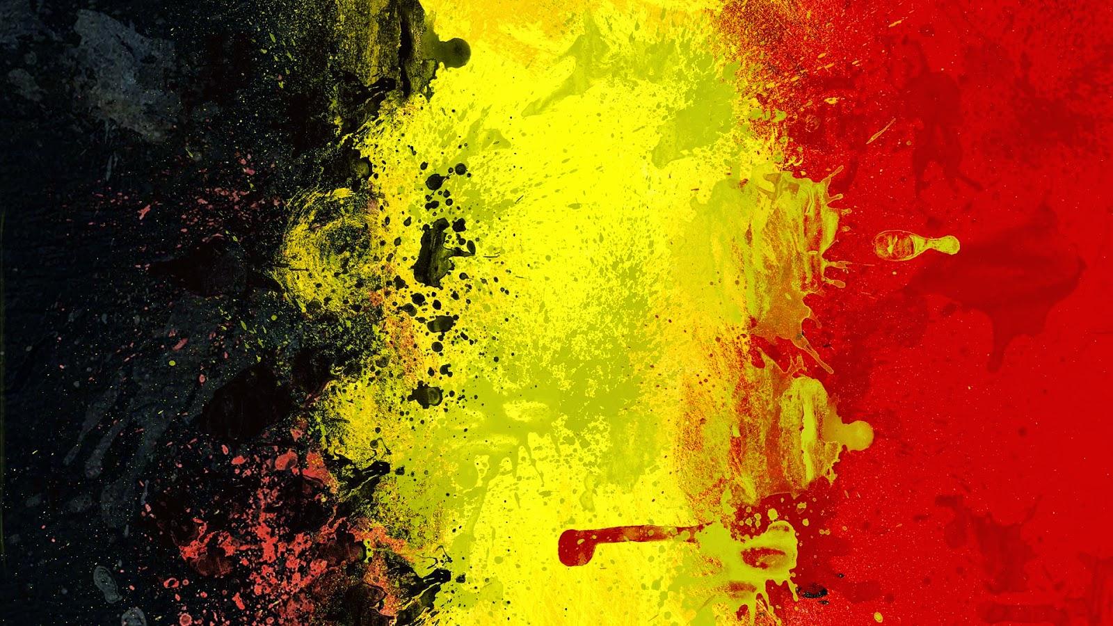 Afbeeldingsresultaat voor belgische vlag kunst